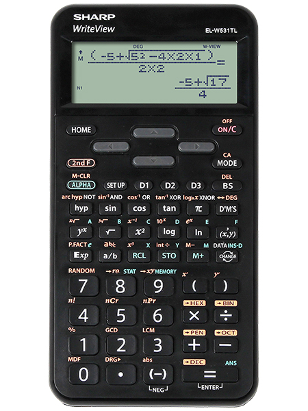 Scientific Calculator Sharp ELW531T Scientific Calculator Black
