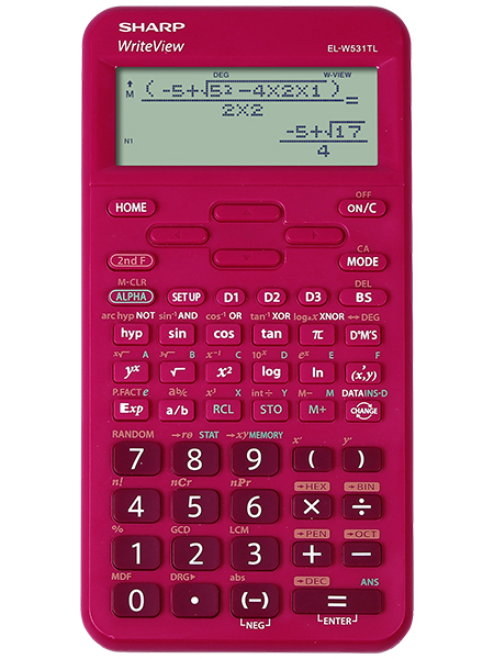 Scientific Calculator Sharp ELW531T Scientific Calculator Raspberry