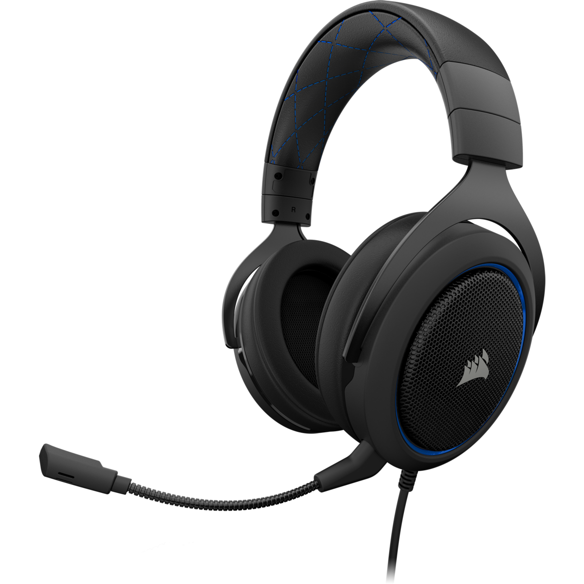 Corsair HS50 Blue Stereo Gaming Headset