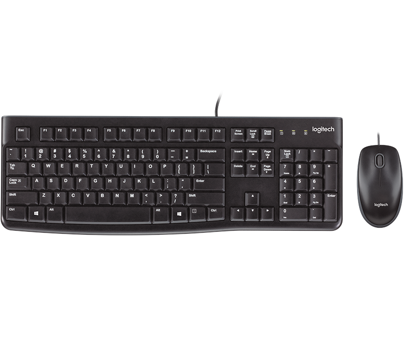 Logitech MK120 Int. EER Keyboard and Mouse Combo