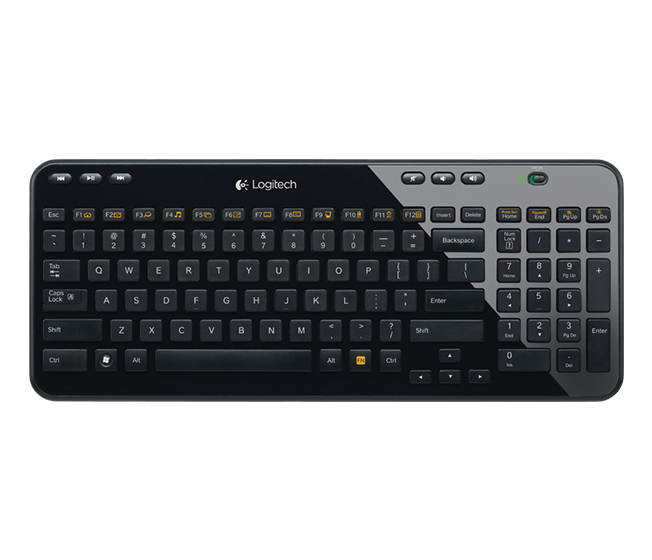 Logitech K360 Wireless Qwerty Keyboard