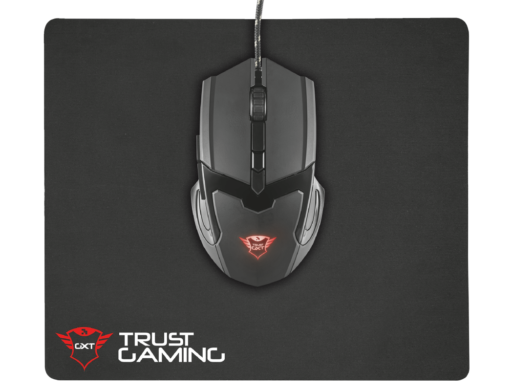 Trust GXT 782 Optical Mouse and Mousepad