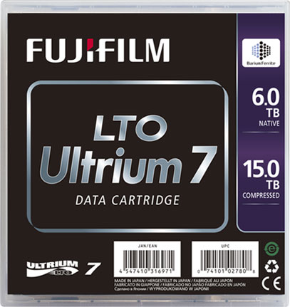 Fujifilm 16456574 LTO7 Blank Data Tape 6TB