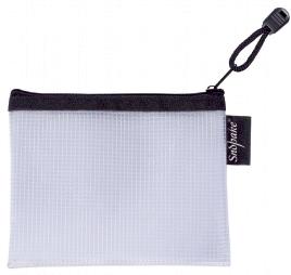 EVA Mesh Zippa Bag A6 Black PK3