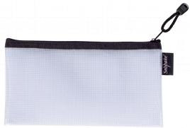 EVA Mesh Zippa Bag DL Black PK3