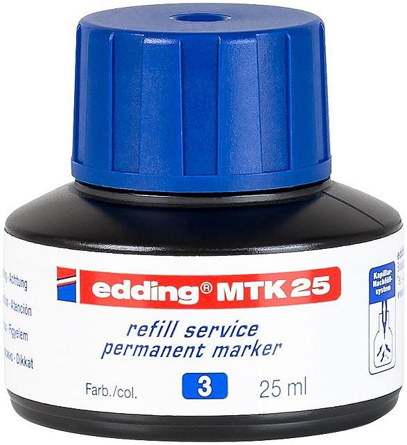 edding MTK 25 Refill Ink For Permanent Marker Blue