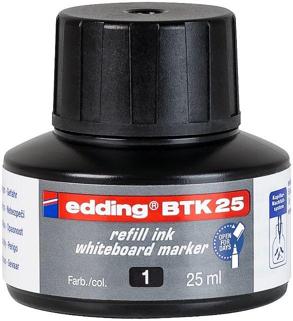 edding BTK 25 Refill Ink For Whiteboard Marker Black