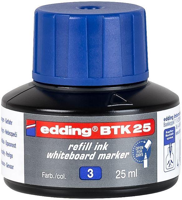 edding BTK 25 Refill Ink For Whiteboard Marker Blue