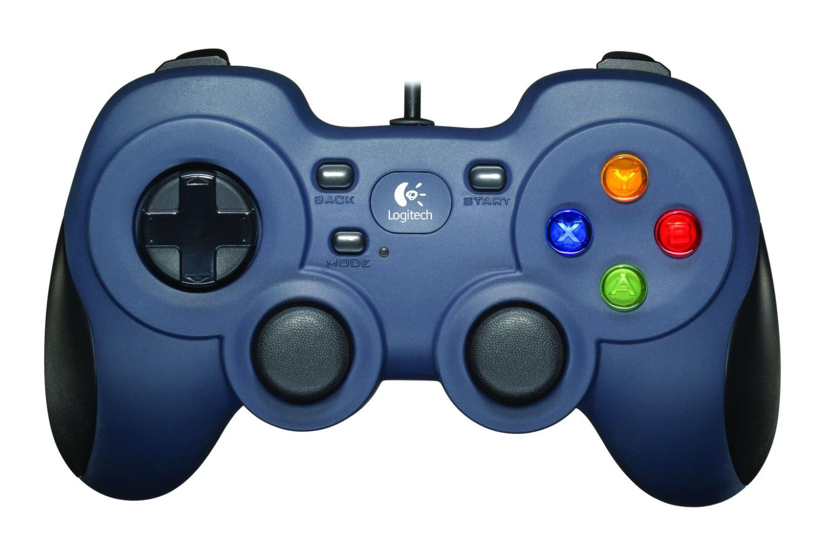 Games Controllers Logitech F310 USB Wired Gamepad Blue