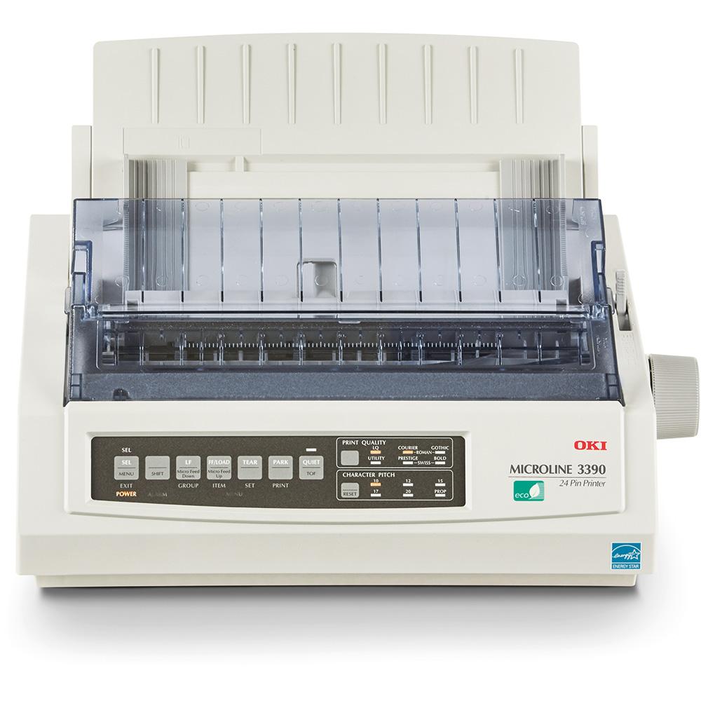Inkjet Printers OKI ML3390Eco 24 Pin Dot Matrix Printe