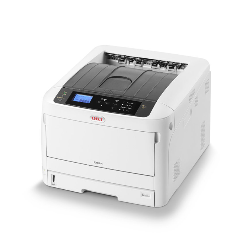 Laser Printers OKI C824n A3 Colour Laser Printer
