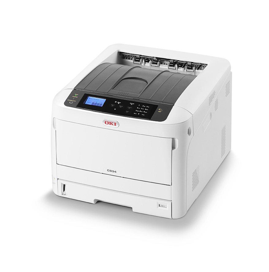 Laser Printers Oki C834nw A3 Colour Laser Printer