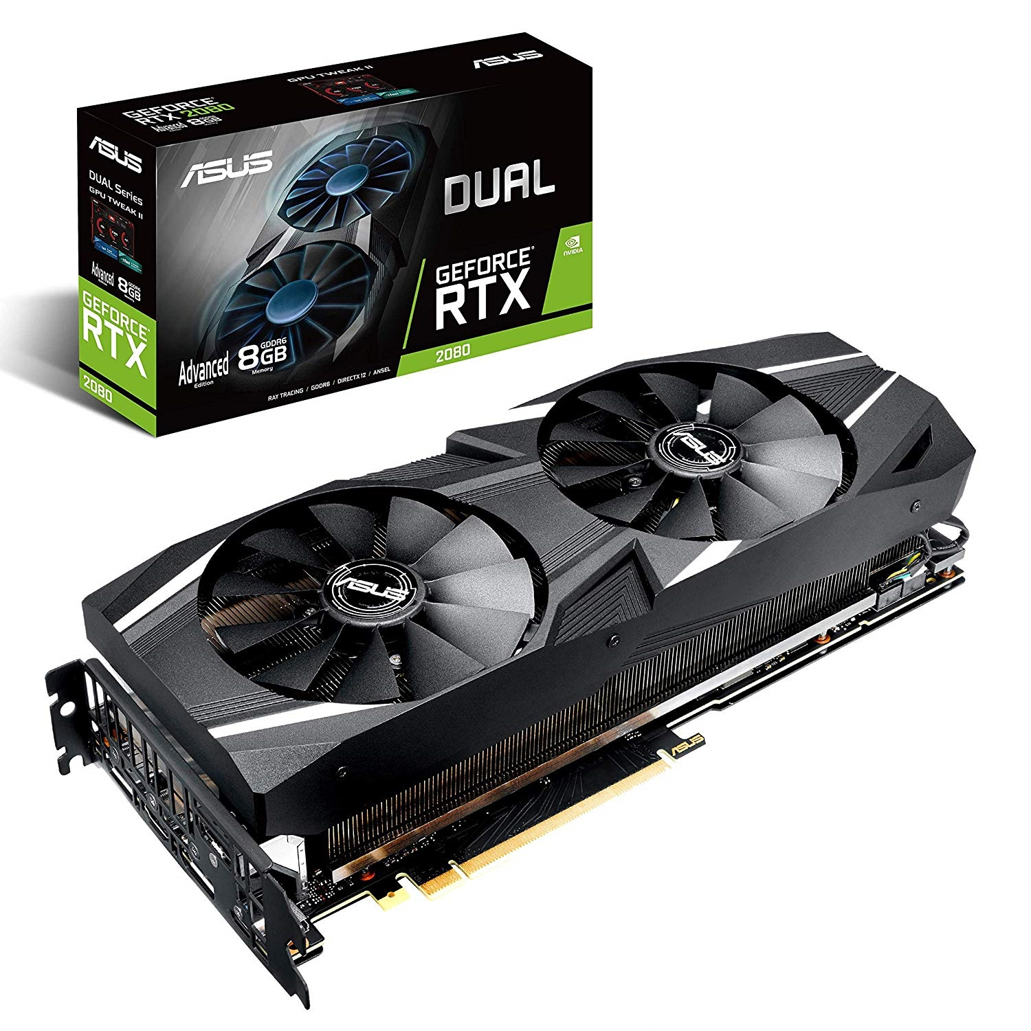 ASUS RTX 2080 DUAL ADVANCED 8GB DDR6