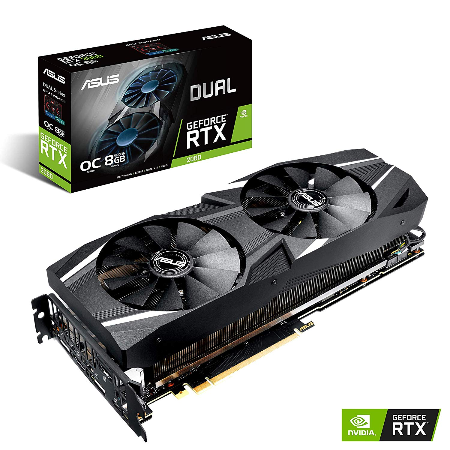 ASUS DUAL GEFORCE RTX 2080 8GB DDR6