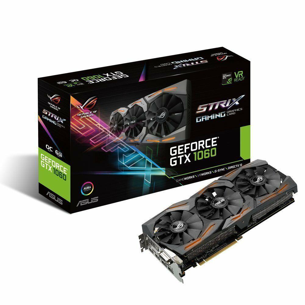 ASUS ROG Strix GTX 1060 6GB OC DDR5