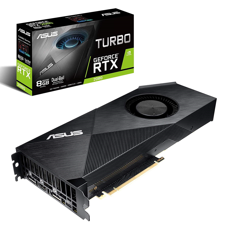ASUS TURBO RTX 2080 8GB GRAPHICS CARD