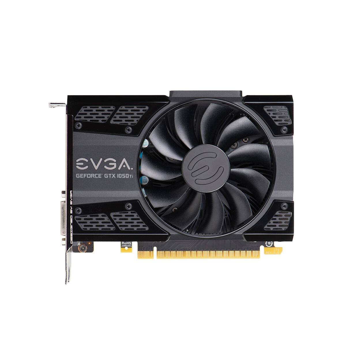 EVGA GTX 1050Ti 4GB DDR5 Graphics Card