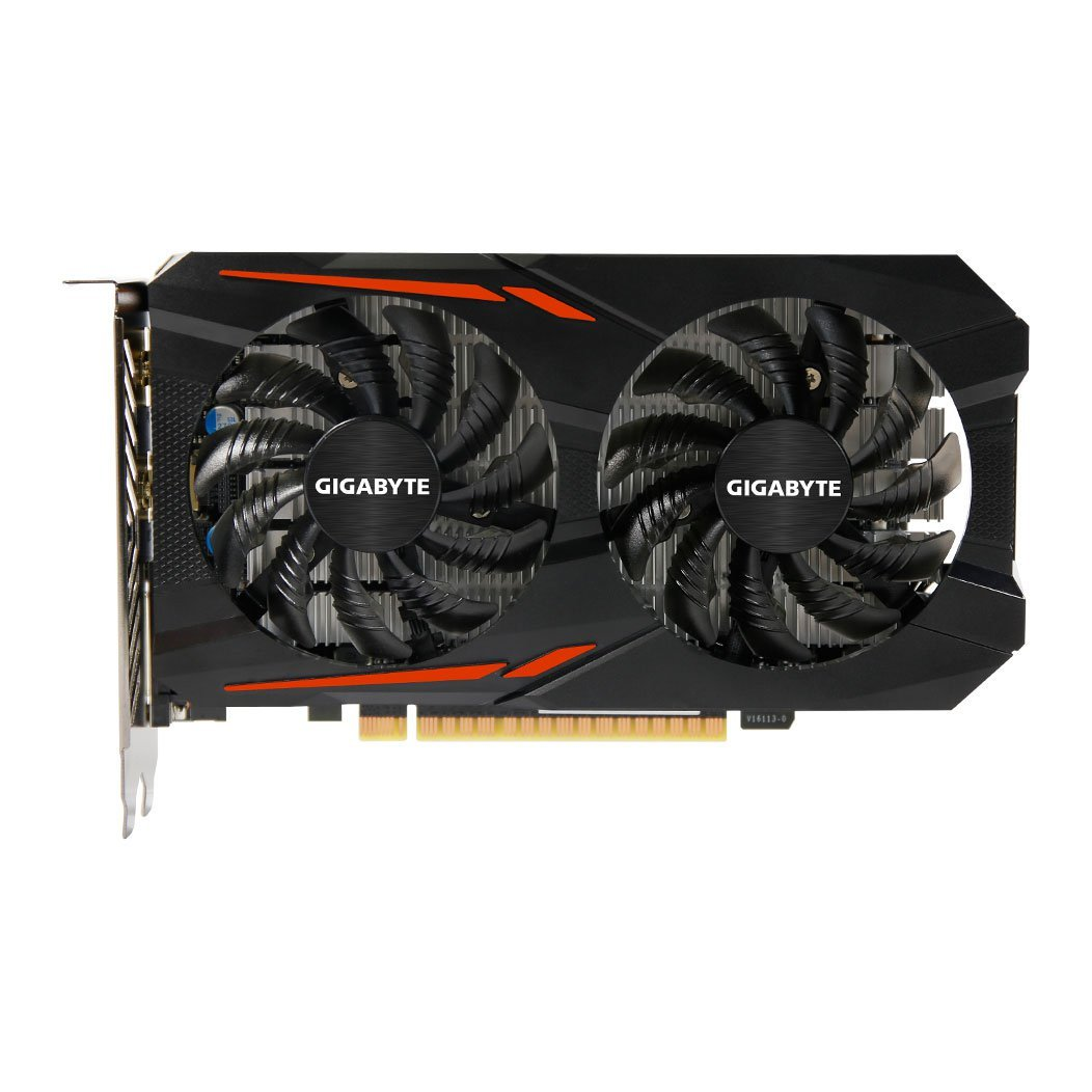 Gigabyte GTX 1050Ti 4GB DDR5 90mm Fan