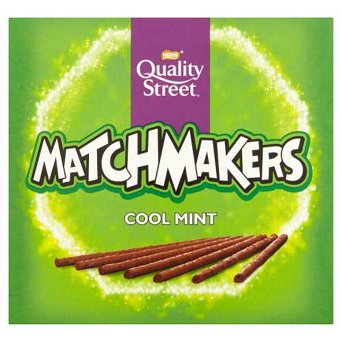 Quality Street Matchmakers Cool Mint Chocolate Sticks (120g)