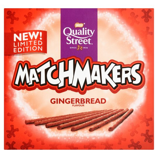 Quality Street Matchmakers Gingerbread Chocolate Sticks (120g)
