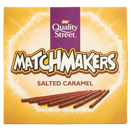 Quality Street Matchmakers Salted Caramel Chocolate Sticks (120g)