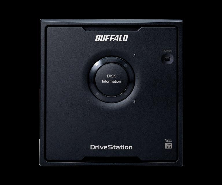 Buffalo 8TB DriveStation Quad USB3 with NAS HDD