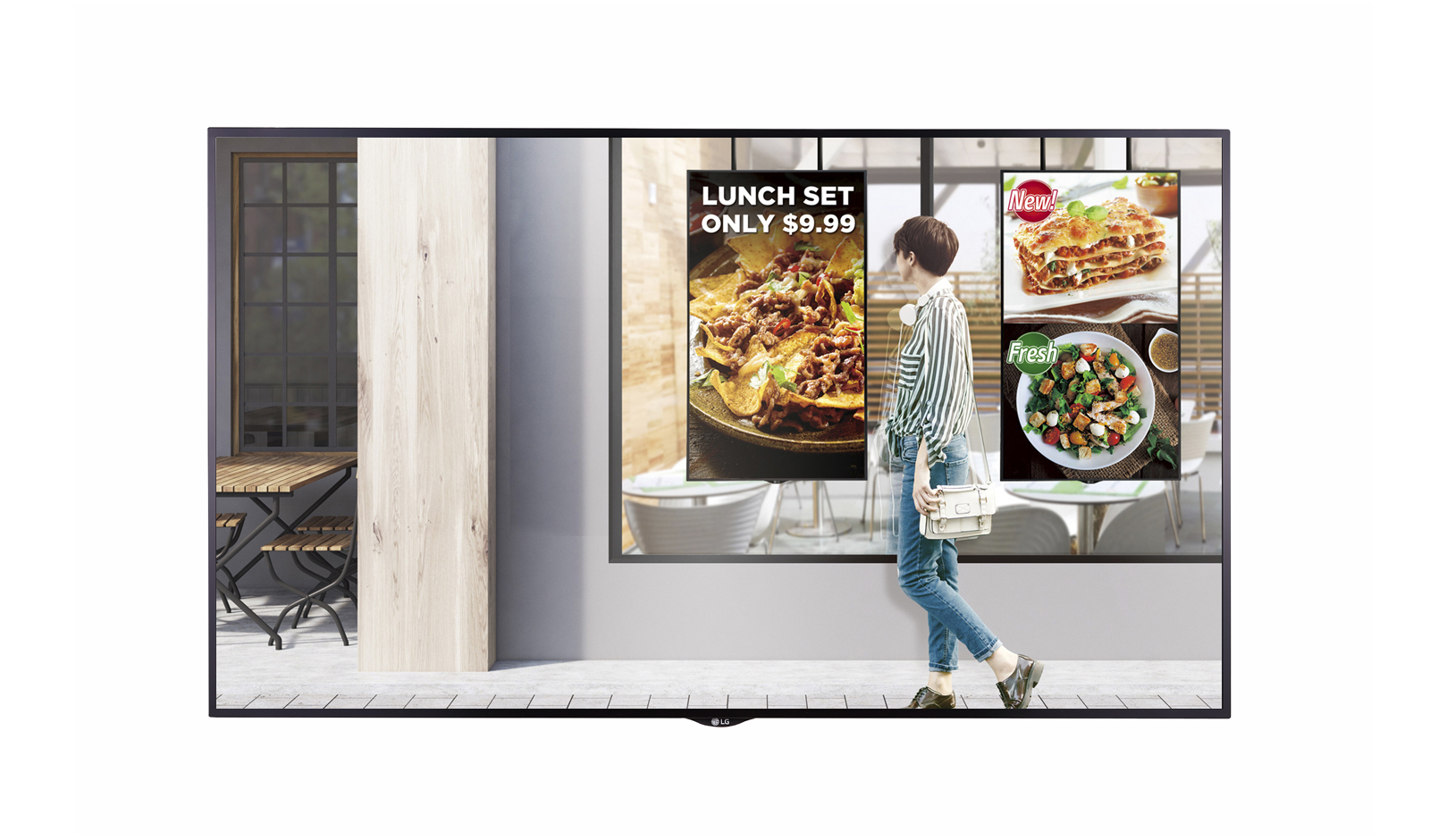 Monitors LG XS2E 55inHigh Bright Signage Display