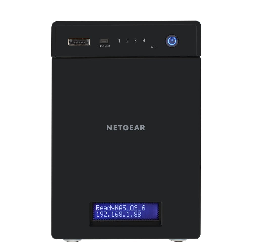 Netgear 8TB ReadyNAS 214 4 Bay Desktop NAS