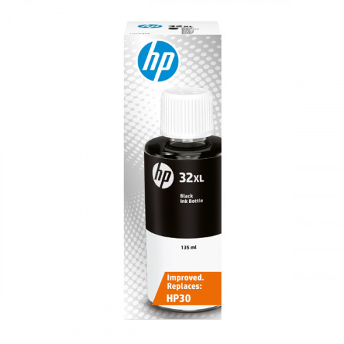 Inkjet Cartridges HP 32Xl Black Standard Capacity Ink Bottle 6K 1VV24AE