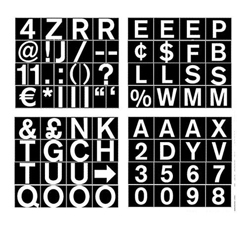 Magnets Bi-Office Magnetic Letters Nos And Symbols 23mm