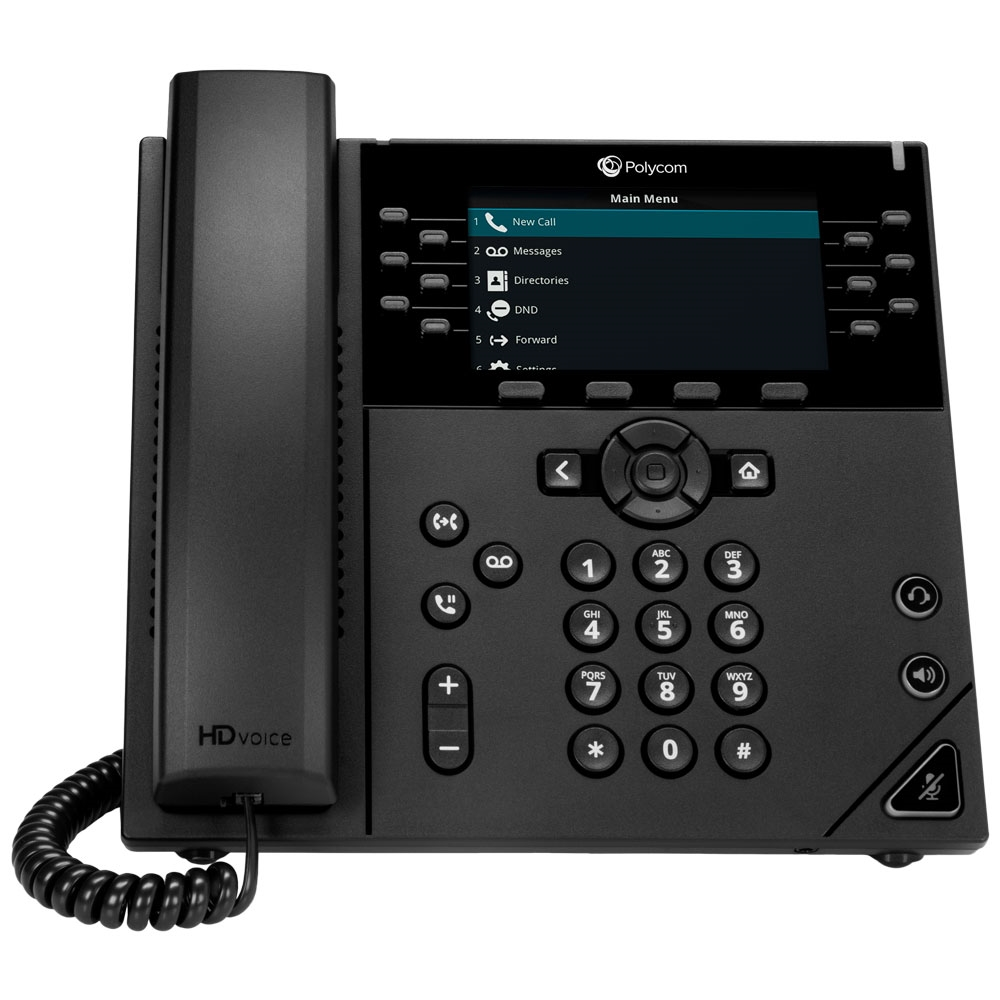 Polycom VVX 450 12 Line Desktop IP Phone