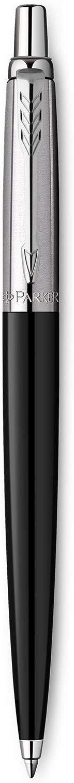 Ball Point Pens Parker Medium Ballpoint Jotter Black Barrel Blue Ink Pen
