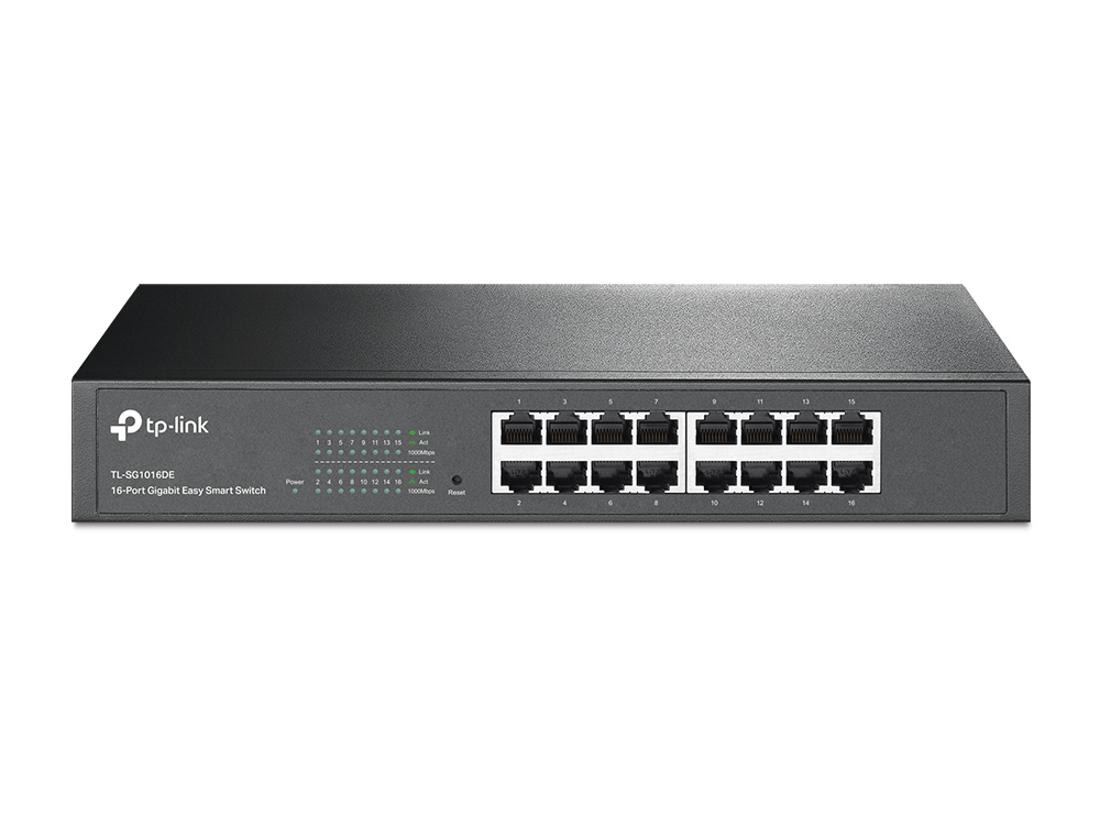 16 Port Gigabit L2 Easy Smart Switch