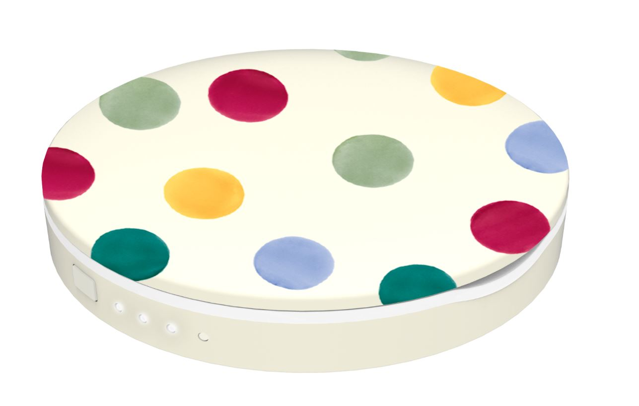 Coco Lite EB Polka Dot Portable Charger
