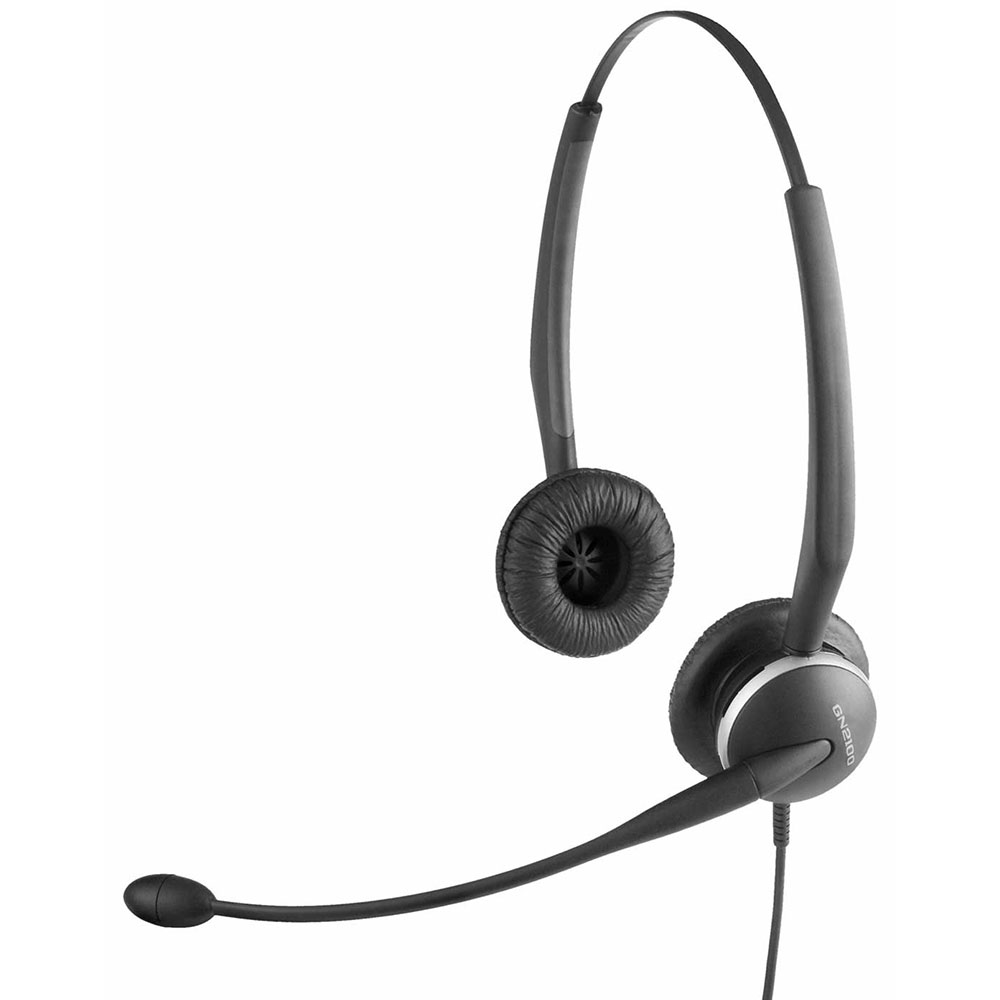 GN2100 Duo Telecoil Noise Cancel Headset