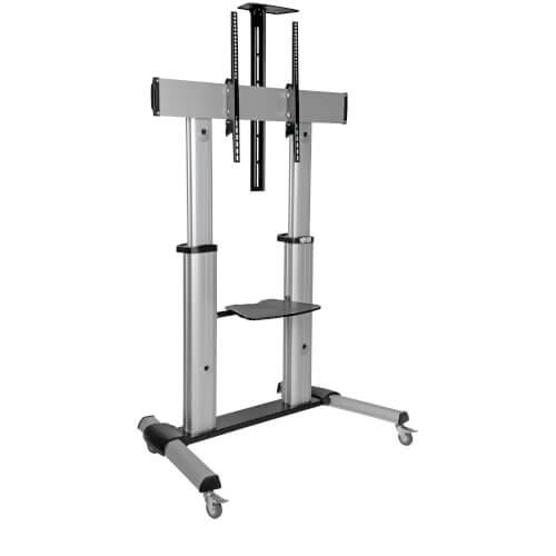60in to 100in Mobile TV Floor Stand Cart