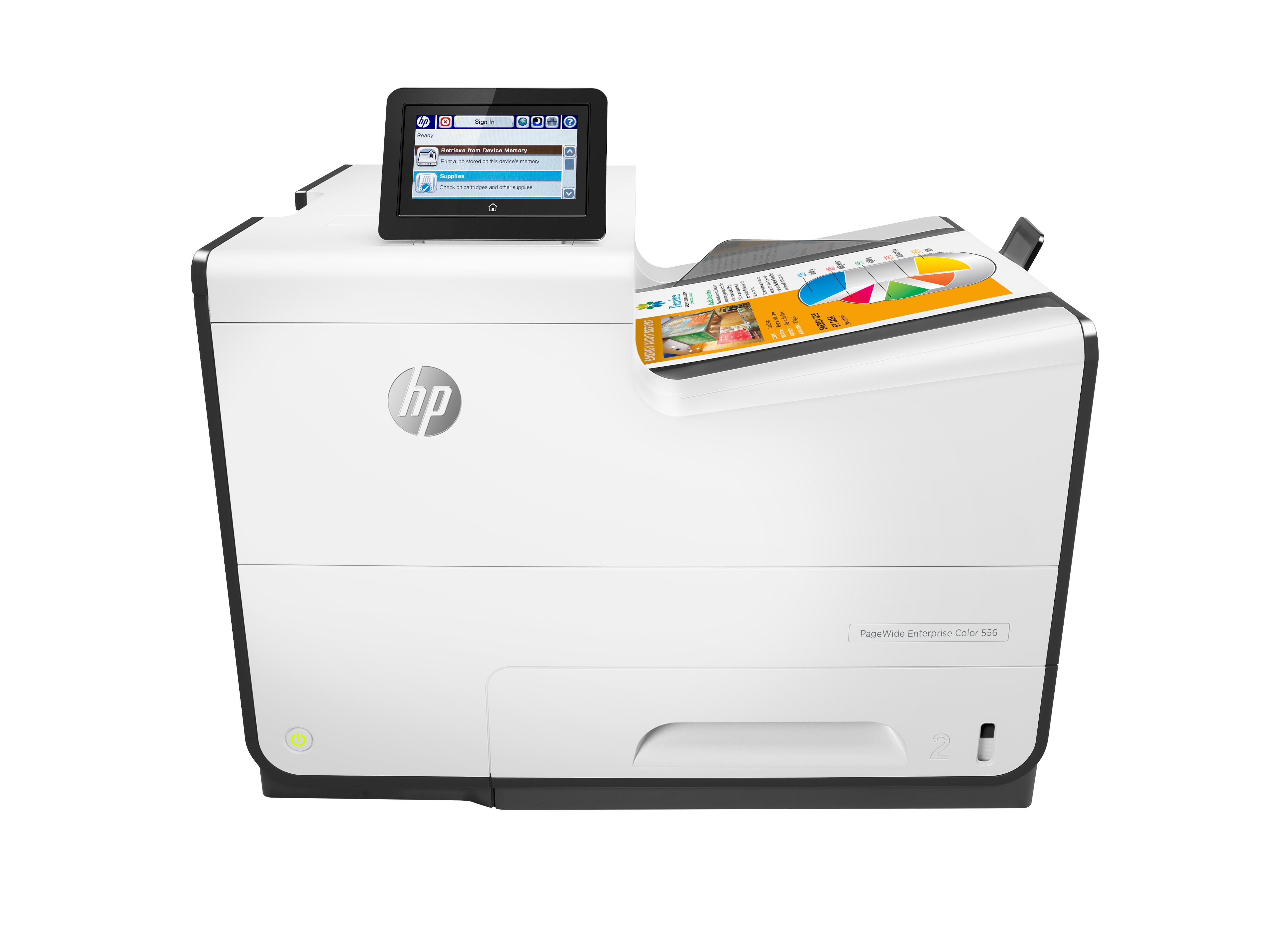Inkjet Printers PageWide Enterprise 556dn Inkjet Printer