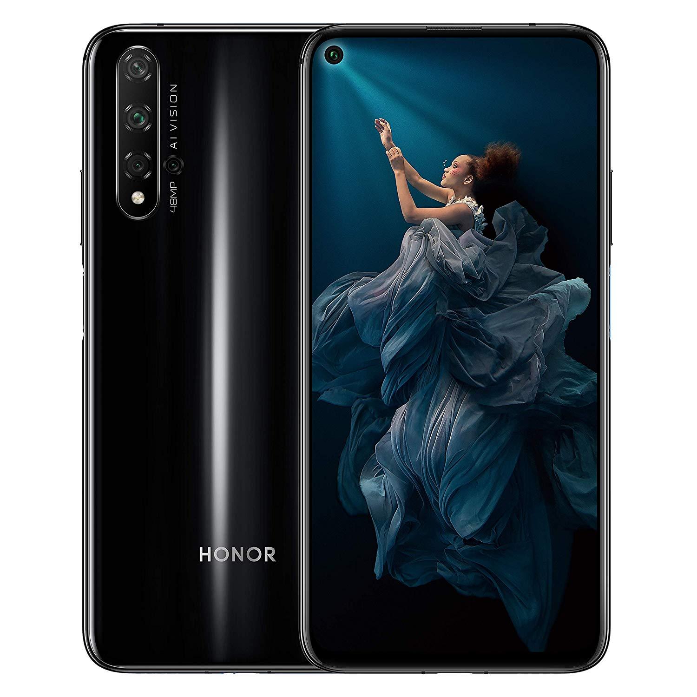Honor 20 Black 6GB 128GB Mobile Phone
