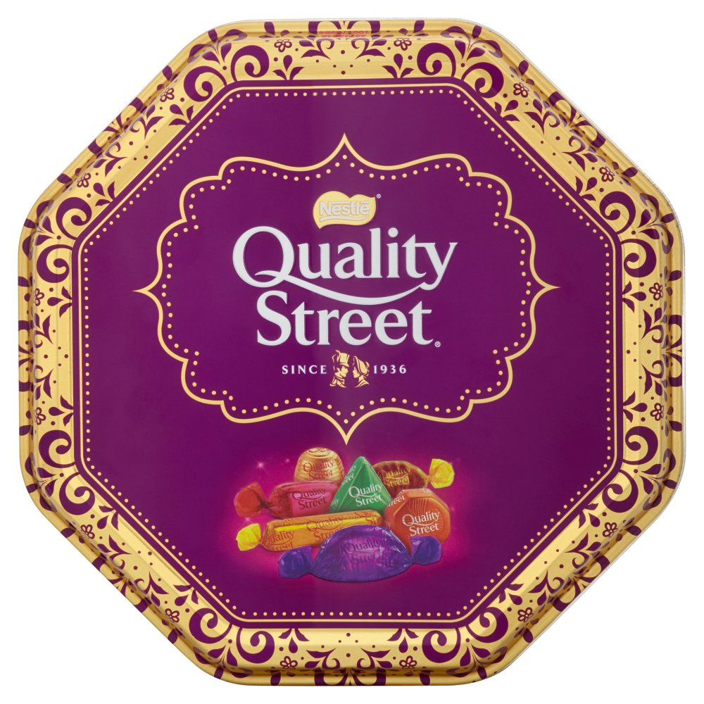 Sweets / Chocolate Quality Street Festive Tin 1Kg