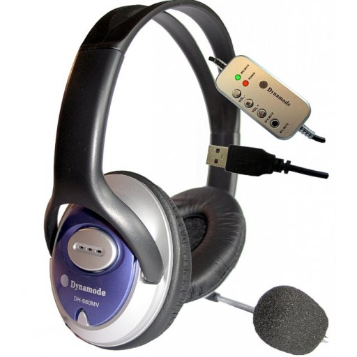 USB Stereo Headset and Microphone