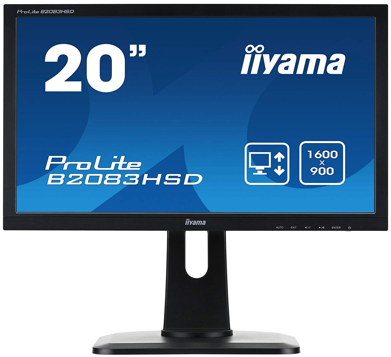 19.5in LED Monitor Speakers VGA DVID