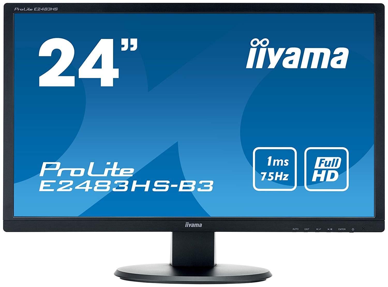 24in LED Full HD Speakers VGA HDMI