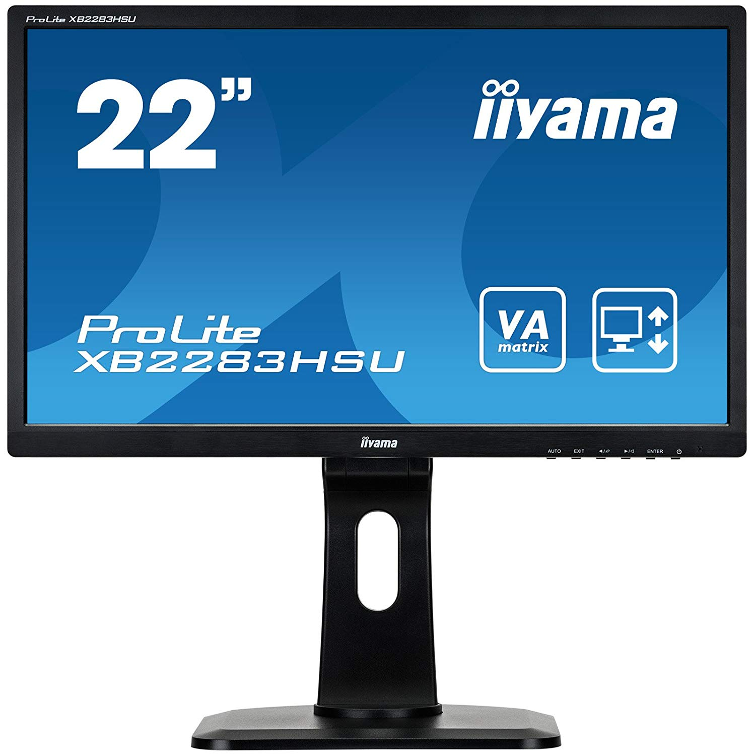 21.5in LED HD Monitor Speakers VGA DVID