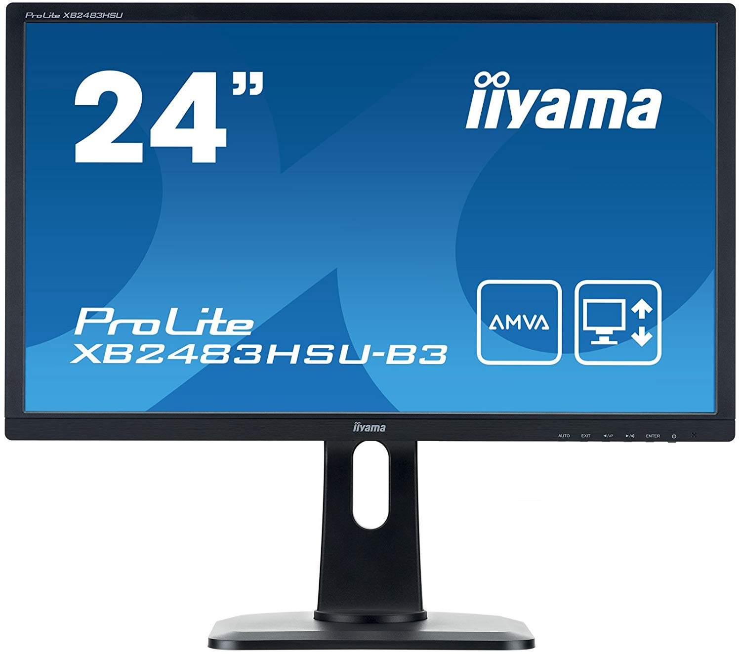 23.8in Monitor HD Speakers Height Adjust
