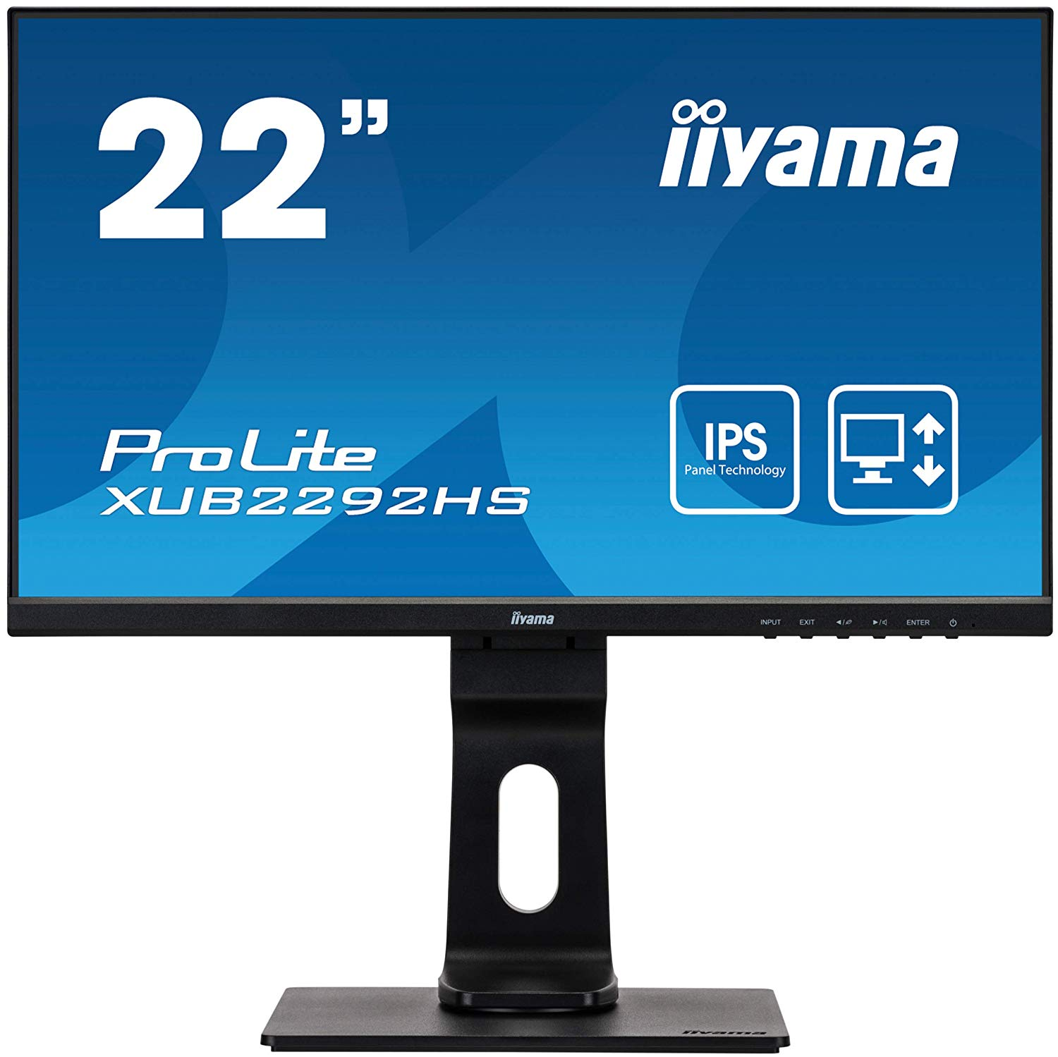 21.5in   Monitor HD Speakers VGA DP HDMI