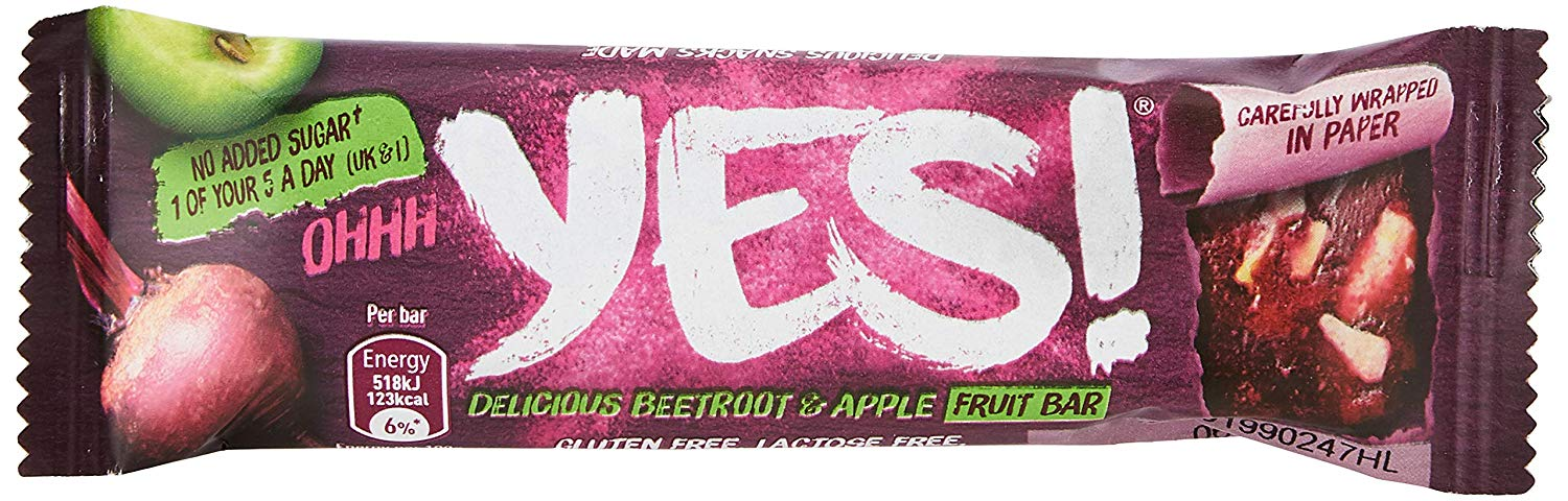 Yes Beetroot and Apple Bar 24x32g