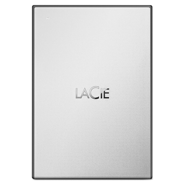 Hard Drives 2TB LaCie USB 3.0 Silver Ext HDD