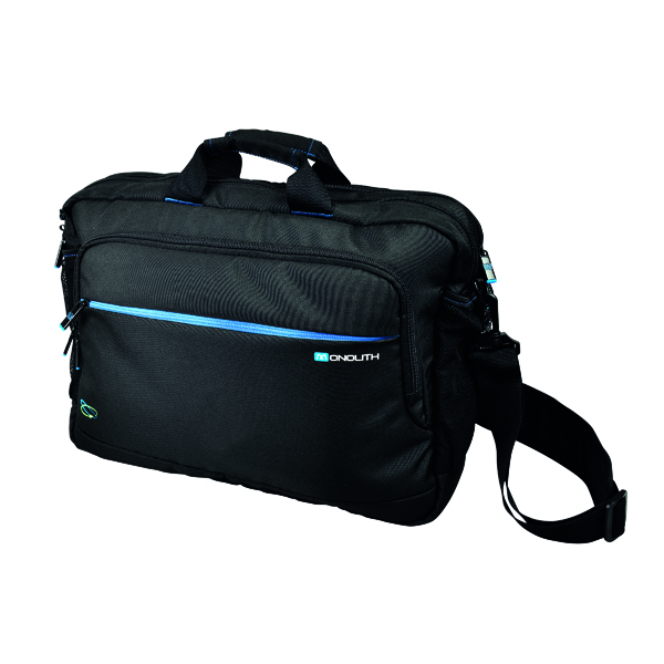 Monolith Blue Line Hybrid Laptop Case 15.6in