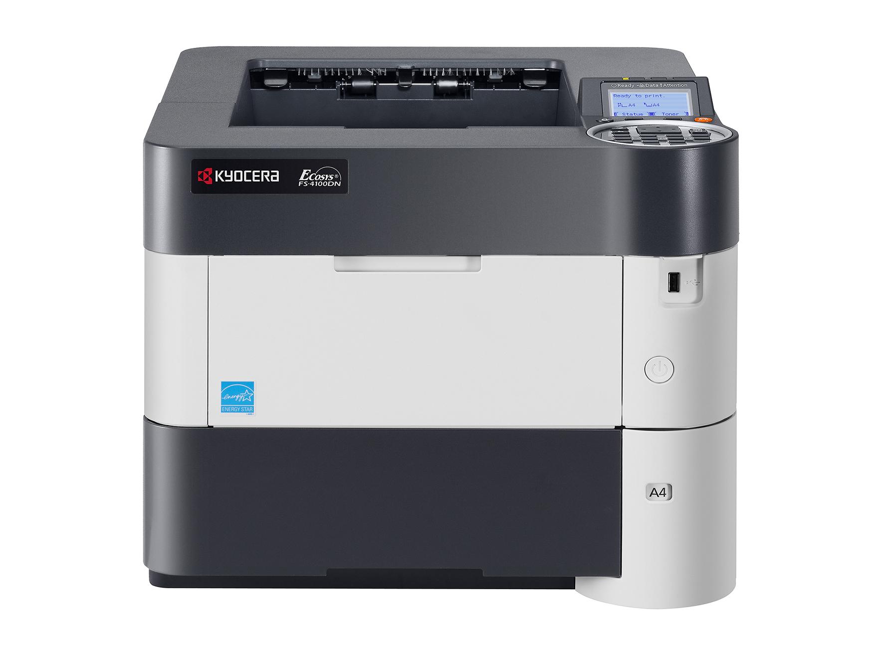 Kyocera FS4100DN A4 Mono Laser Printer