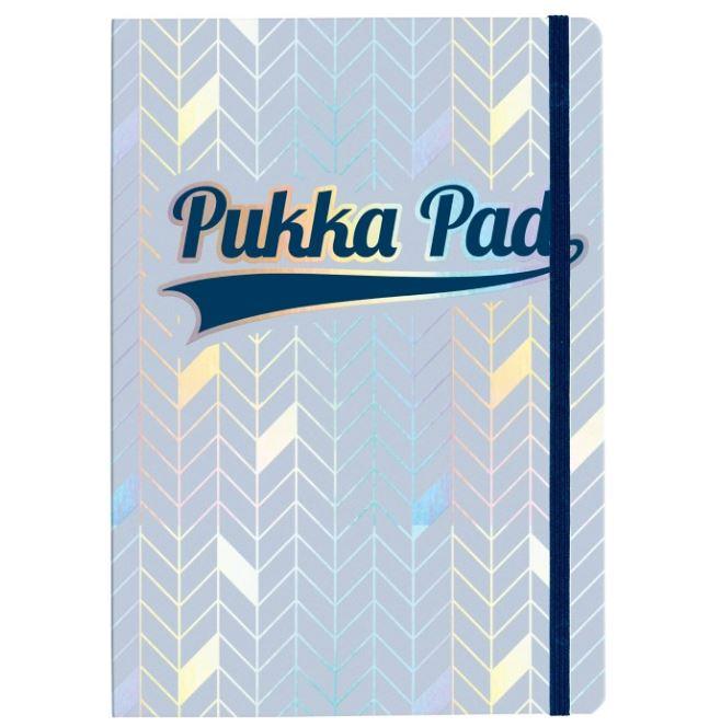 Ruled Pukka Glee Journal Light Blue PK3